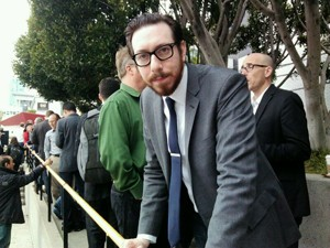 Joshua Topolsky, editor do The Verge (Foto: Laura Brentano/G1)
