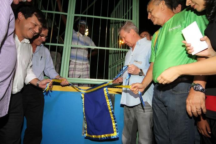 Inauguração quadra da Glória (Foto: Mário Oliveira/Semcom)