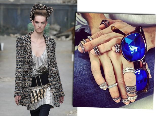 Chanel couture, inverno 2014 (Foto: Antonio Barros e Reprodução/Instagram)