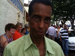 Eurípedes Higino, filho de Chico, falou como fica a doutrina (Foto: Paulo Borges/G1)
