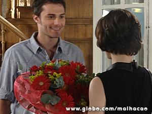 Martin se esforça para conquistar Micaela (Foto: Malhação / TV Globo)