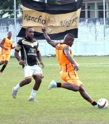 Serra venceu time amador antes da estreia na Série B do Capixabão (Foto: Alef Jordan/PC Esportes)