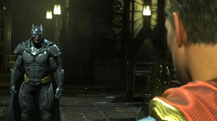 Batman e Superman mais uma vez se enfrentam em Injustice 2 (Foto: Reprodução/YouTube)