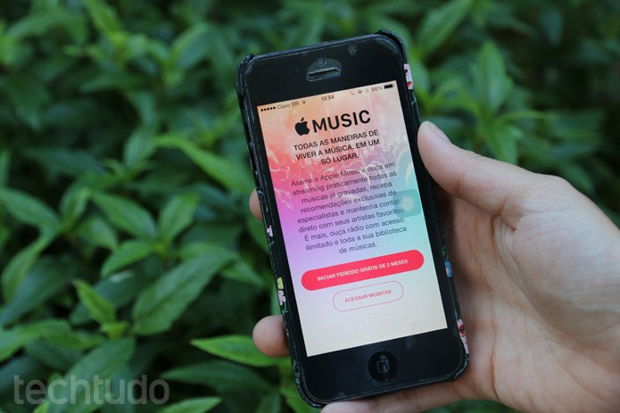 apple-music-x-contra-spotify (Foto: Isabela Giantomaso / TechTudo)