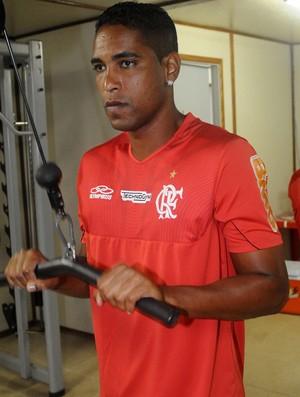 Cleber Santana Flamengo treino (Foto: Alexandre Vidal / Fla imagem)
