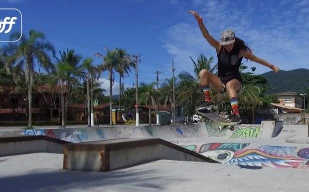 Skate na praia - app Canal OFF