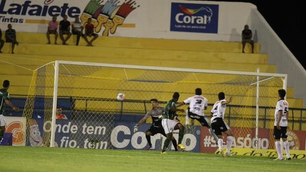 Icasa x ASA Série B Romeirão Gol Tadeu (Foto: Normando Sóracles/Agência Miséria de Comunicação)