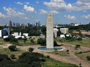 Praça do Relógio USP (Foto: Divulgação/USP)