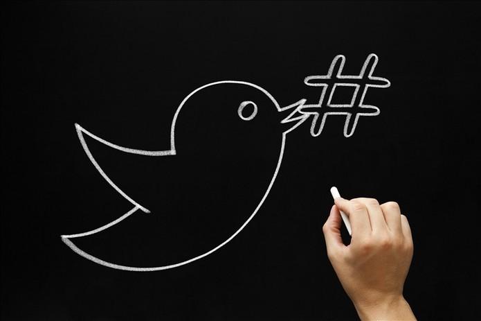Hashtag é a forma de marcar um conteúdo no Twitter (Foto: Pond5)