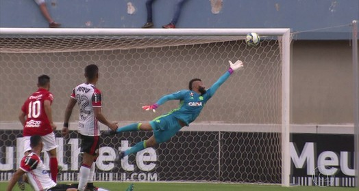 Flamengo é derrotado pelo Vila Nova-GO no primeiro amistoso da temporada 2017 (Antonio Marcos)