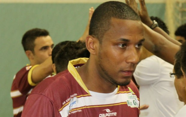 Jé, pivô do Orlândia na Liga Futsal (Foto: Divulgação)