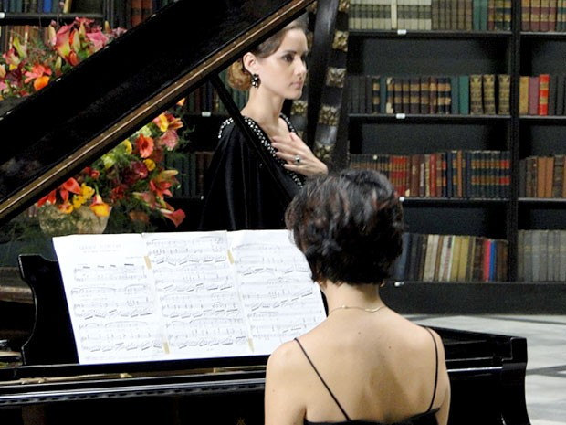 A pianista e a soprano arrasam (Foto: Cheias de Charme / TV Globo)