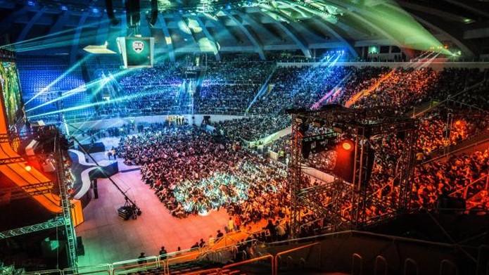 League of Legends teve sua Final Regional no Maracanãzinho, em 2014 (Foto: Divulgação)
