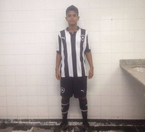 Ullysses Afonso, atacante acreano do Botafogo (Foto: Joe Alves/Arquivo Pessoal)