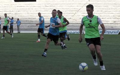 Treino Botafogo-PB, Estádio Almeidão (Foto: Divulgação / Botafogo-PB)