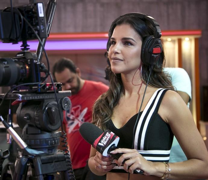 Mariana Rios estava concentrada e feliz com a estreia no reality  (Foto: Isabella Pinheiro/Gshow)