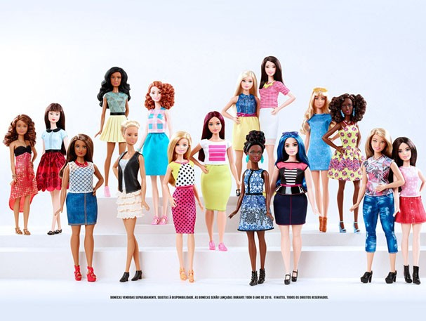 Coleção Barbie Fashionistas (Foto: Reprodução)