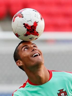 Cristiano Ronaldo Portugal Copa das Confederações (Foto: Efe)