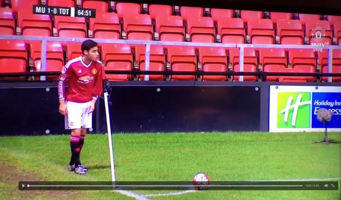 BLOG: Andreas Pereira faz gol olímpico em jogo do time sub-21 do Manchester United