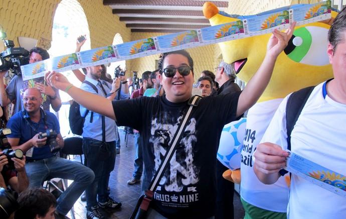 Ingressos Copa do Mundo (Foto: Felippe Costa)