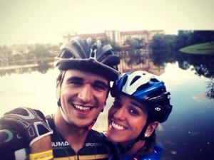 Daniel Grossi e Isabella Lacerda (Foto: Daniel Grossi/Arquivo Pessoal)