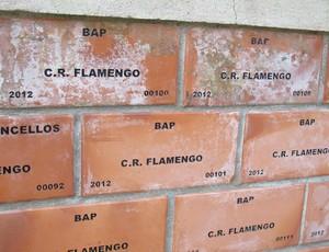 Flamengo - Muro dos Tijolinhos (Foto: Cahê Mota)