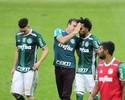 """Já ganhou? Moisés nega soberba do Palmeiras: """"Tomamos tantas porradas"""""""