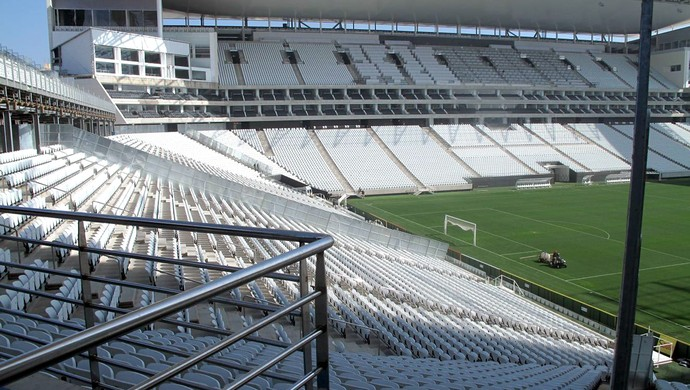 Arena Corinthians visitantes (Foto: Rodrigo Faber)