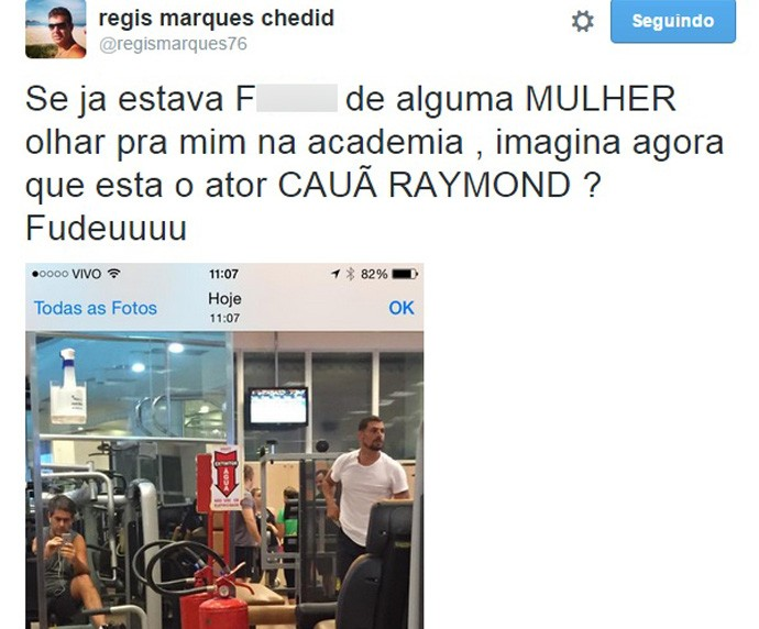 Regis Marques empresario Caua (Foto: Reprodução / Twitter)
