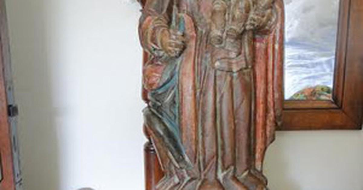 Furtada há 20 anos, imagem de santa é recuperada pela PF em ... - Globo.com