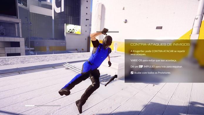 Mirrors Edge Catalyst não tem combates muito interessantes (Foto: Reprodução/Felipe Vinha)