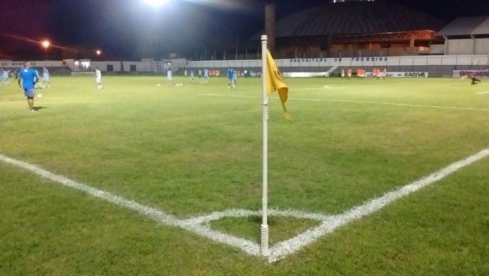 Estádio Lindolfo Monteiro, Teresina  (Foto: Renan Morais )