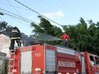 Incêndio é provocado dentro de casa desocupada em João Pessoa, diz PM