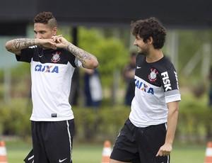 Guerrero Pato Corinthians (Foto: Daniel Augusto Jr / Agência Corinthians)