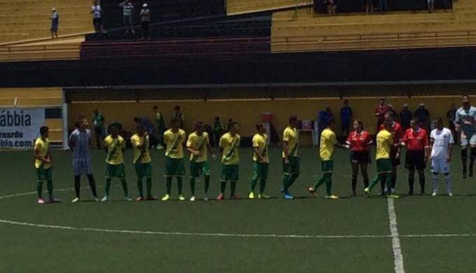 Sete disputa o último jogo na Copinha contra o Unaí (Foto: Thiago Paes/ Divulgação Paes Soccer)