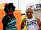 FOTOS: Competidores mostram criatividade com fantasias no GP Teresina Corrida de Rua  (Abdias Bideh/GloboEsporte.com)