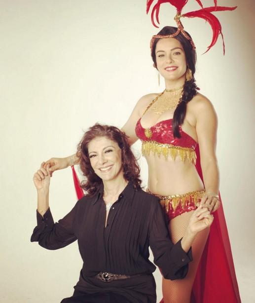 Regiane Alves e Marília Pêra - atriz prestou homenagem a já saudosa Marília (Foto: Reprodução Instagram)