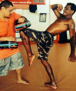 Naldo Silva, MMA Roraima (Foto: Arquivo Pessoal)