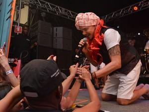 Netinho no Carnaval  (Foto: Júnior Improta/Ag Haack)