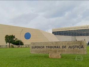 Superior Tribunal de Justiça (TV Globo) (Foto: Reprodução Rede Globo)