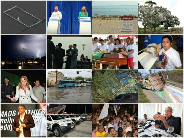 G1 Amazonas lista os fatos que foram destaque em 2012 (Foto: Reprodução/G1 AM)