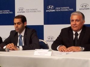 Inauguração da Hyundai em Piracicaba (Foto: Thomaz Fernandes/G1)