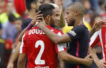 """Douglas lembra período difícil no Barcelona: """"Ia para casa chorando"""""""