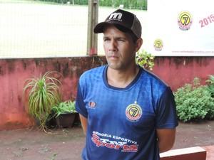 Técnico Chiquinho Lima, do Sete de Dourados (Foto: Renato Giansante/Sete)