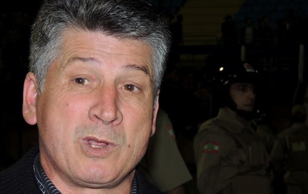 Nareu Martinelli presidente Joinville (Foto: Marcelo Silva)