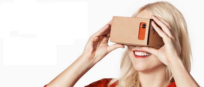 d97c059d4e4 Aprenda a fazer um óculos de realidade virtual de papelão (Foto  Divulgação  Google