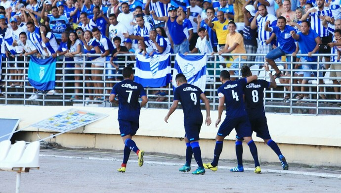 CSA x Santa Rita, no Rei Pelé (Foto: Ailton Cruz / Gazeta de Alagoas)