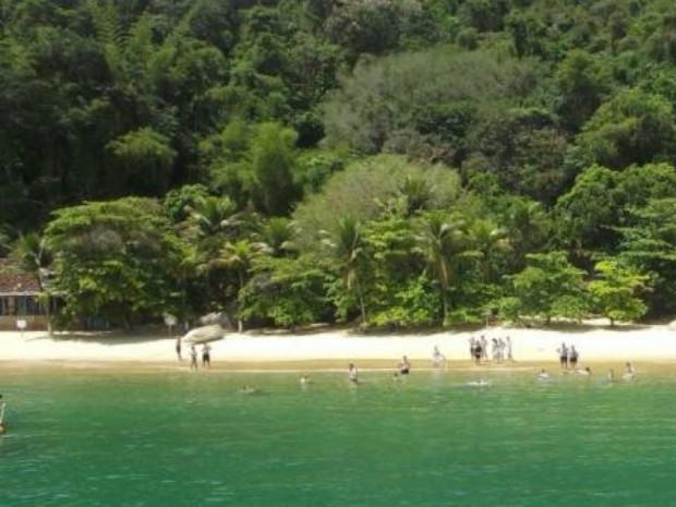 Praia da Costa, no Saco do Mamanguá, Paraty (RJ) (Foto: Dilvugação/Justiça Federal)