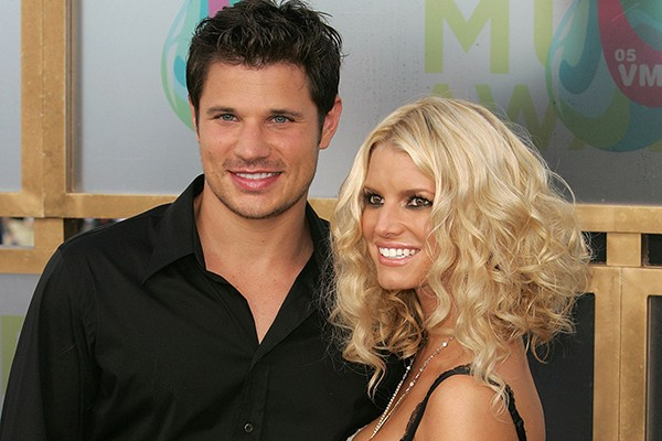 Nick Lachey e Jessica Simpson (Foto: Getty Images)