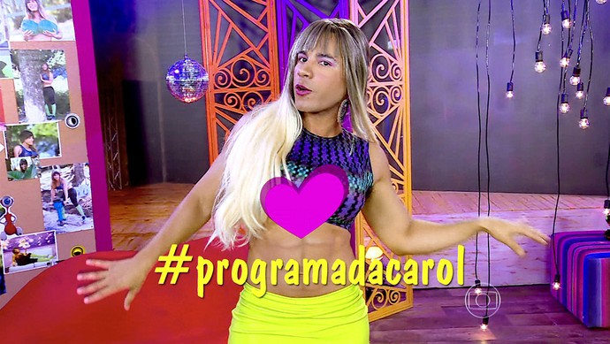 CAROL PAIXAO 2 noite 26_01 (Foto: TV Globo)